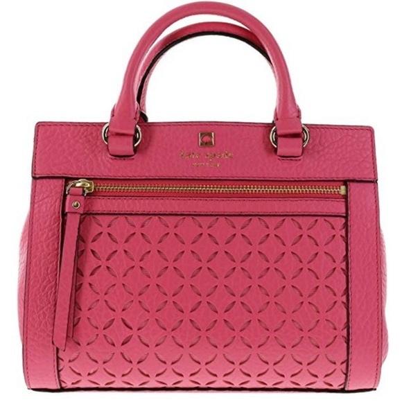 kate spade Handbags - 🌿Kate Spade Perri Lane Romy Leather Satchel🌿
